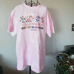 CLEARANCE!Vintage California tiedyed cotton tshirt